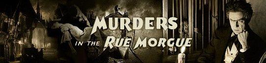「モルグ街の殺人事件」エドガー・アラン・ポー :Murders in the Rue Morgue